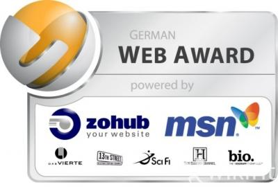 Wikifit beim German Web Award