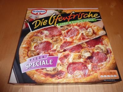 Die Ofenfrische, Pizza Speciale