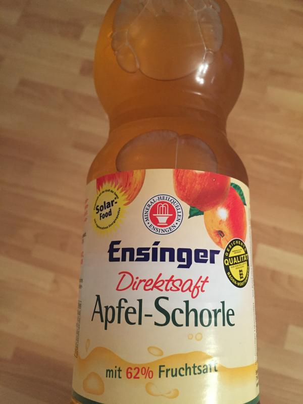 Direktsaft Apfel-Schorle