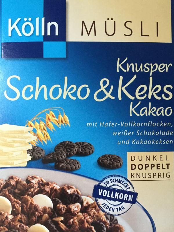 Knusper Schoko & Keks Kakao