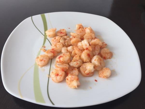 Knoblauch-Chili-Garnelen