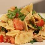 Thunfisch-Rucola-Nudelsalat