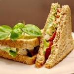 Tomaten-Eiercreme-Sandwich