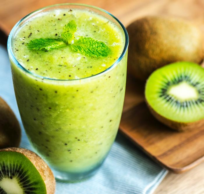 Kiwi-Bananen Smoothie