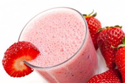 Eiweiß-Shake Erdbeer-Vanille-Joghurt